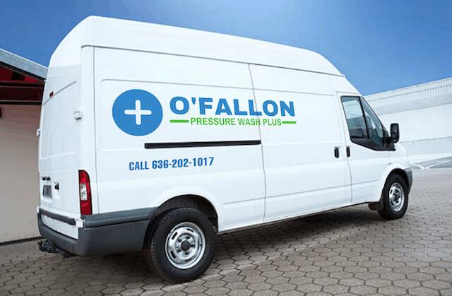 ofallon pressure washing van