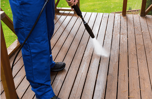 deck cleaning o'fallon